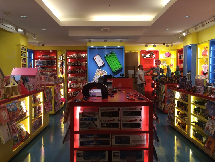 Childrens Store Retail Space